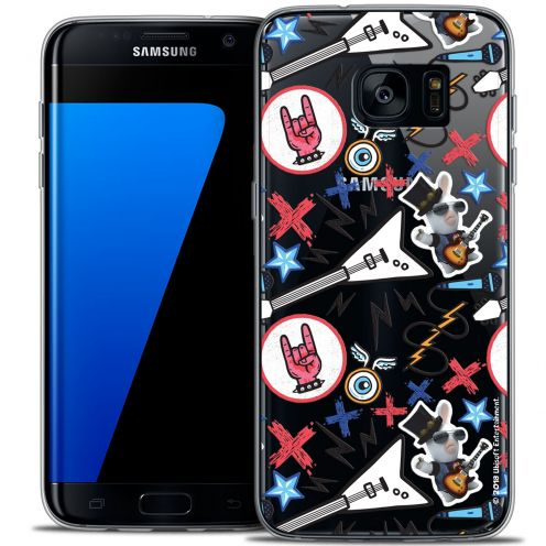 Coque Galaxy S7 Edge Extra Fine Lapins Crétins™ - Rock Pattern