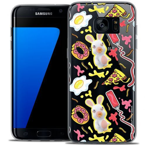 Coque Galaxy S7 Edge Extra Fine Lapins Crétins™ - Egg Pattern