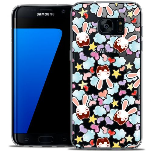 Coque Galaxy S7 Edge Extra Fine Lapins Crétins™ - Love Pattern