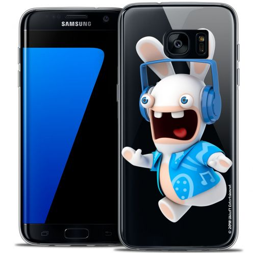 Coque Galaxy S7 Edge Extra Fine Lapins Crétins™ - Techno Lapin