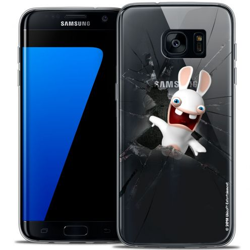 Coque Galaxy S7 Edge Extra Fine Lapins Crétins™ - Breaking Glass