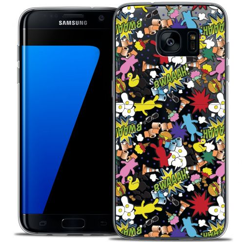 Coque Galaxy S7 Edge Extra Fine Lapins Crétins™ - Bwaaah Pattern