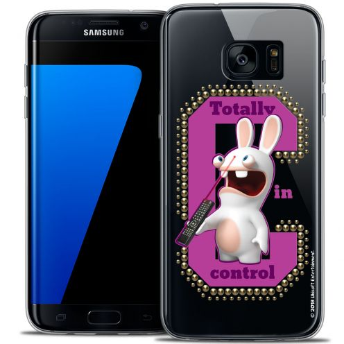 Coque Galaxy S7 Edge Extra Fine Lapins Crétins™ - In Control !
