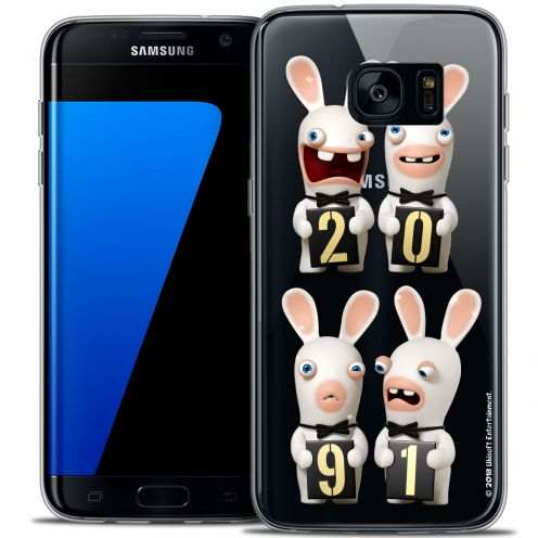 Coque Galaxy S7 Edge Extra Fine Lapins Crétins™ - New Year