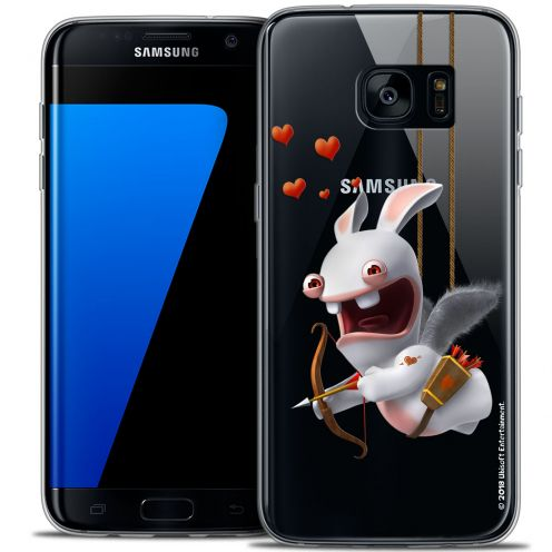 Coque Galaxy S7 Edge Extra Fine Lapins Crétins™ - Flying Cupidon