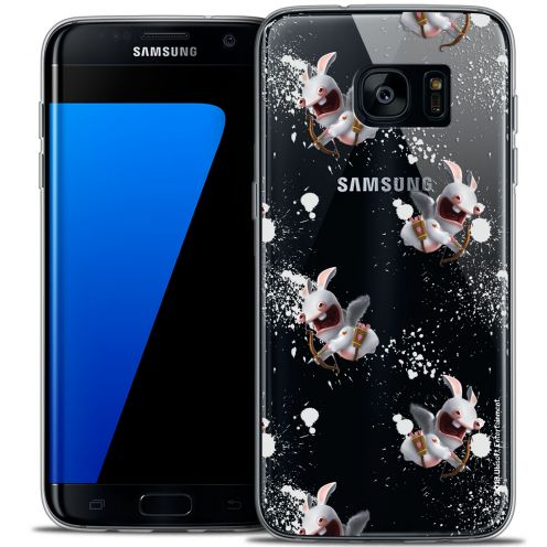 Coque Galaxy S7 Edge Extra Fine Lapins Crétins™ - Cupidon Pattern
