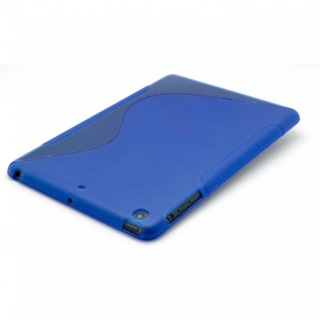 coque ipad mini tpu basics s line bleu. Black Bedroom Furniture Sets. Home Design Ideas