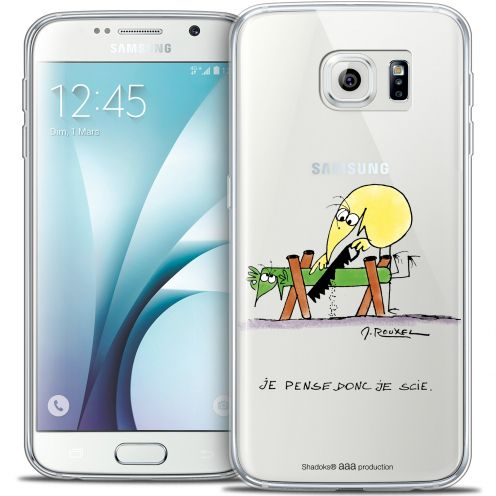Coque Galaxy S6 Extra Fine Les Shadoks® - Je pense Donc