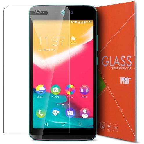 Vue détaillée de Protection d'écran Verre trempé Wiko Rainbow Jam - 9H Glass Pro+ HD 0.33mm 2.5D
