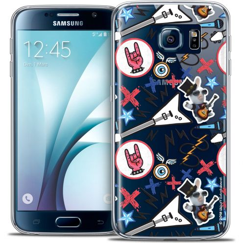 Coque Galaxy S6 Extra Fine Lapins Crétins™ - Rock Pattern