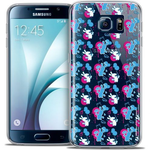 Coque Galaxy S6 Extra Fine Lapins Crétins™ - Rugby Pattern