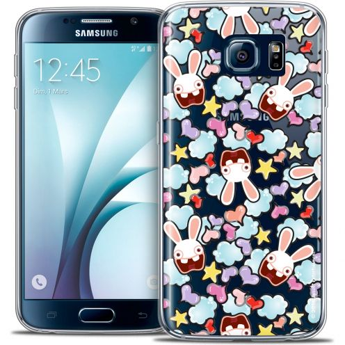 Coque Galaxy S6 Extra Fine Lapins Crétins™ - Love Pattern