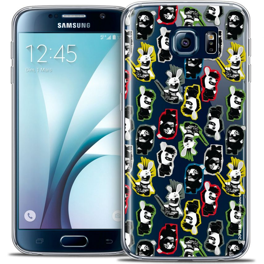 Coque Galaxy S6 Extra Fine Lapins Crétins™ - Punk Pattern