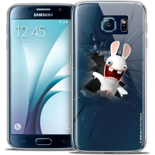 Coque Galaxy S6 Extra Fine Lapins Crétins™ - Breaking Glass