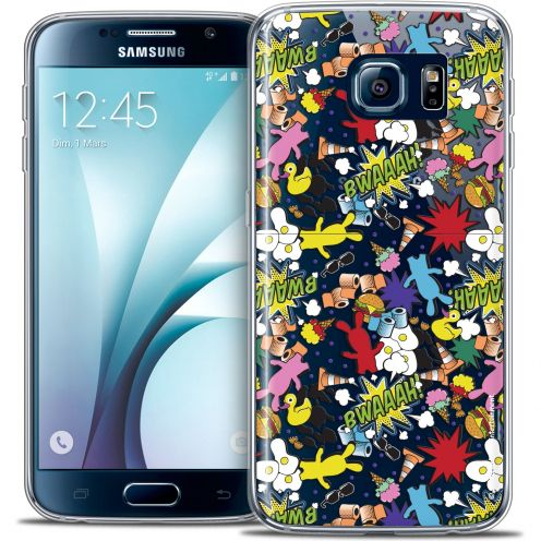 Coque Galaxy S6 Extra Fine Lapins Crétins™ - Bwaaah Pattern