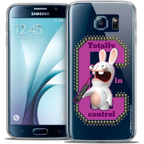 Coque Galaxy S6 Extra Fine Lapins Crétins™ - In Control !