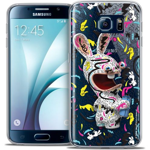 Coque Galaxy S6 Extra Fine Lapins Crétins™ - Tag