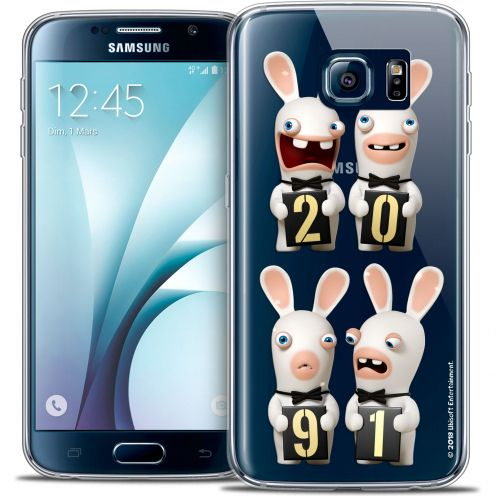 Coque Galaxy S6 Extra Fine Lapins Crétins™ - New Year
