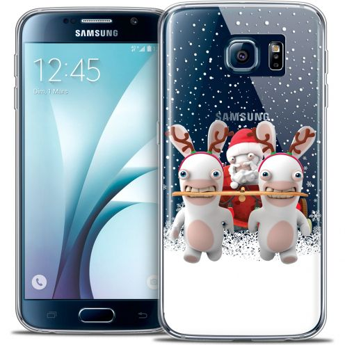 Coque Galaxy S6 Extra Fine Lapins Crétins™ - Lapin Traineau