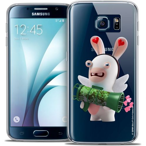 Coque Galaxy S6 Extra Fine Lapins Crétins™ - Cupidon Soldat