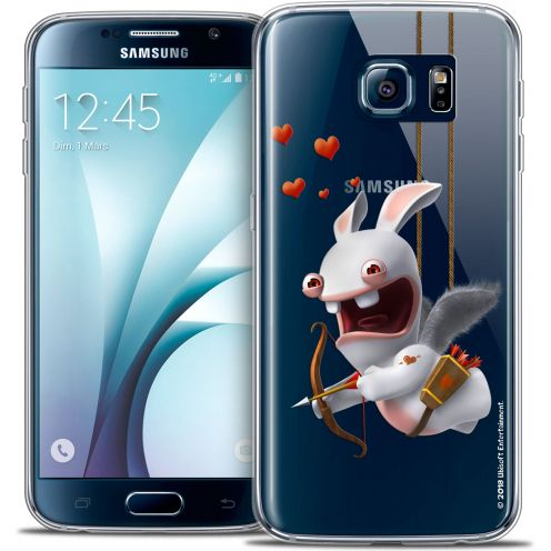 Coque Galaxy S6 Extra Fine Lapins Crétins™ - Flying Cupidon