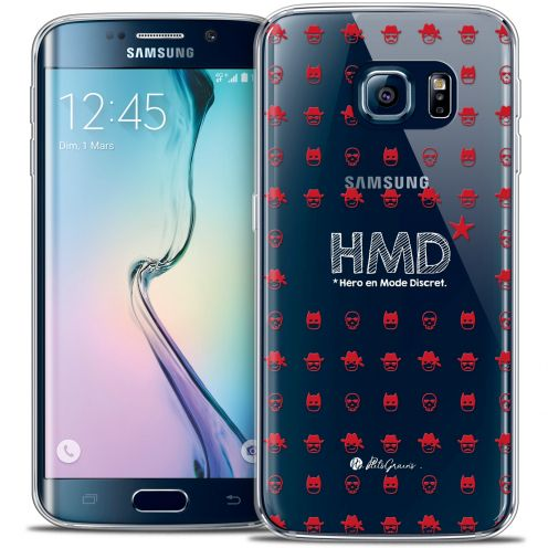 Coque Galaxy S6 Edge Extra Fine Petits Grains® - HMD* Hero en Mode Discret