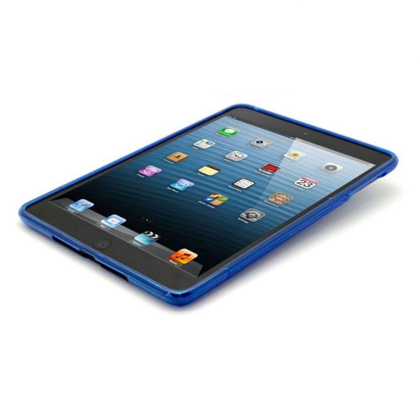 Visuel supplémentaire de Coque iPad Mini Tpu Basics S-Line Bleu