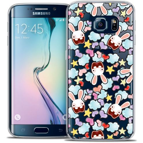 Coque Galaxy S6 Edge Extra Fine Lapins Crétins™ - Love Pattern