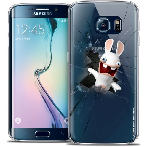 Coque Galaxy S6 Edge Extra Fine Lapins Crétins™ - Breaking Glass