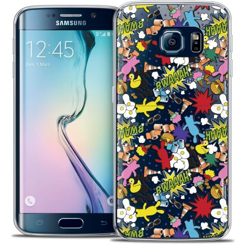 Coque Galaxy S6 Edge Extra Fine Lapins Crétins™ - Bwaaah Pattern