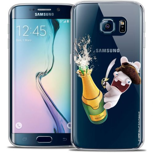 Coque Galaxy S6 Edge Extra Fine Lapins Crétins™ - Champagne !
