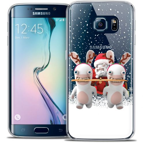 Coque Galaxy S6 Edge Extra Fine Lapins Crétins™ - Lapin Traineau