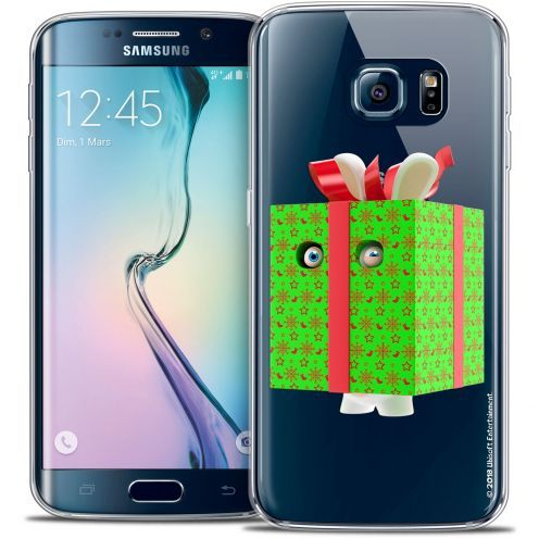 Coque Galaxy S6 Edge Extra Fine Lapins Crétins™ - Lapin Surprise Vert
