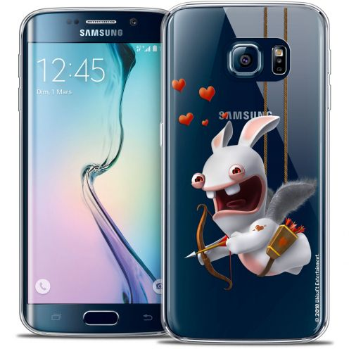 Coque Galaxy S6 Edge Extra Fine Lapins Crétins™ - Flying Cupidon