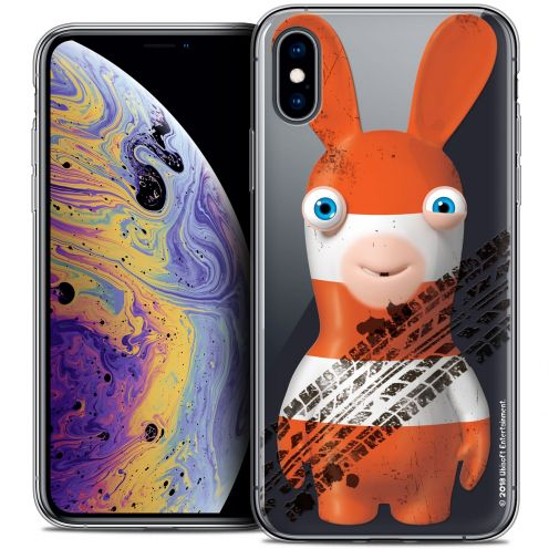 """Coque Gel Apple iPhone Xs / X (5.8"""") Extra Fine Lapins Crétins™ - On the Road"""