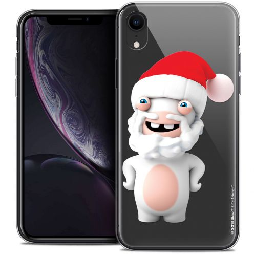 "Coque Gel Apple iPhone Xr (6.1"") Extra Fine Lapins Crétins™ - Lapin Noël"
