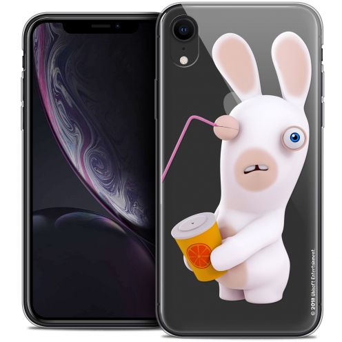"Coque Gel Apple iPhone Xr (6.1"") Extra Fine Lapins Crétins™ - Soda Crétin"