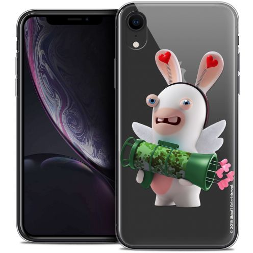 "Coque Gel Apple iPhone Xr (6.1"") Extra Fine Lapins Crétins™ - Cupidon Soldat"