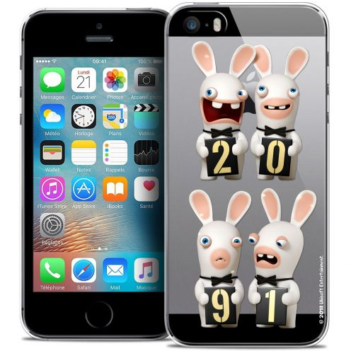 Coque iPhone 5/5s/SE Extra Fine Lapins Crétins™ - New Year