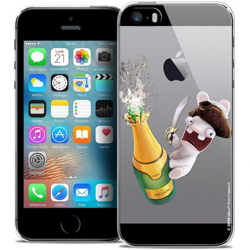 Coque iPhone 5/5s/SE Extra Fine Lapins Crétins™ - Champagne !