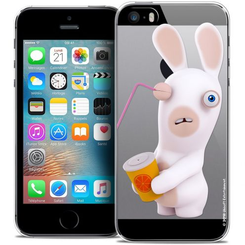 Coque iPhone 5/5s/SE Extra Fine Lapins Crétins™ - Soda Crétin