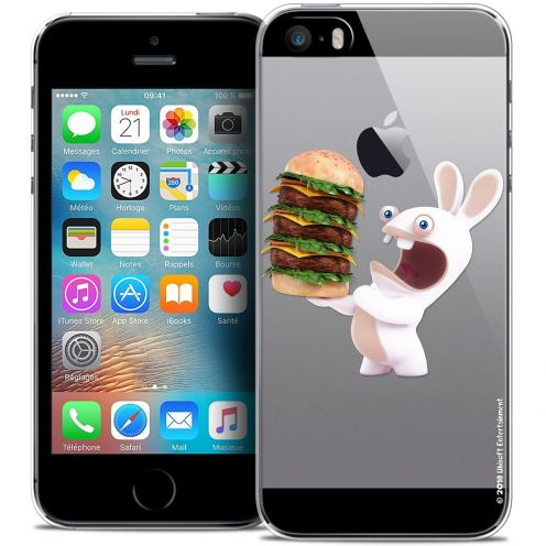 Coque iPhone 5/5s/SE Extra Fine Lapins Crétins™ - Burger Crétin