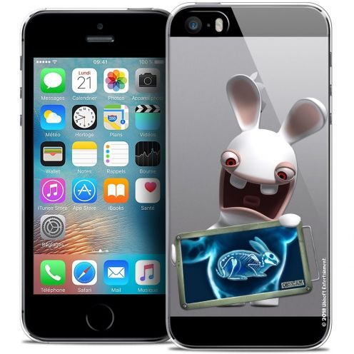 Coque iPhone 5/5s/SE Extra Fine Lapins Crétins™ - X Ray Crétin