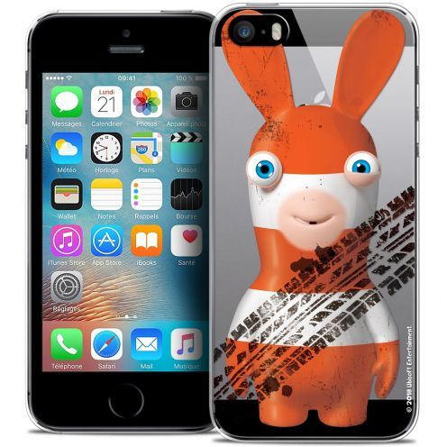 Coque iPhone 5/5s/SE Extra Fine Lapins Crétins™ - On the Road