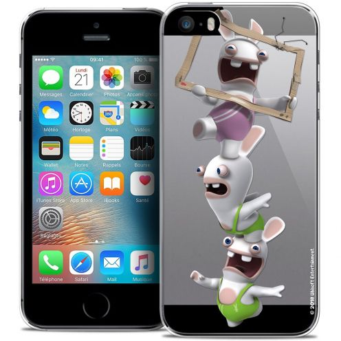 Coque iPhone 5/5s/SE Extra Fine Lapins Crétins™ - TV Sport