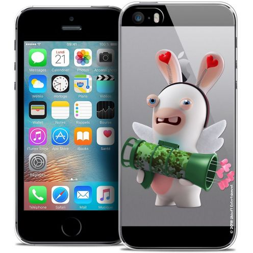 Coque iPhone 5/5s/SE Extra Fine Lapins Crétins™ - Cupidon Soldat
