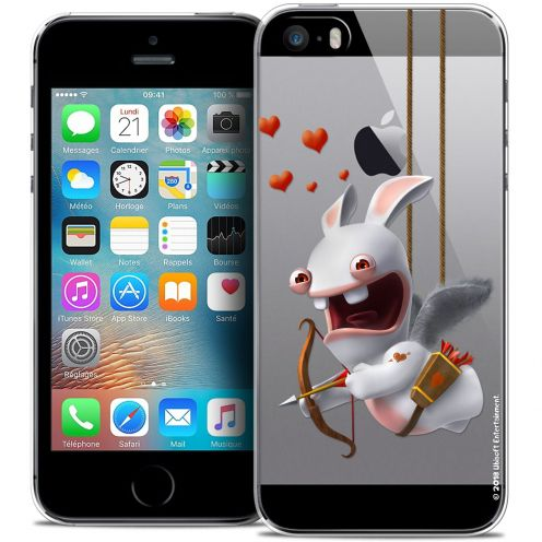 Coque iPhone 5/5s/SE Extra Fine Lapins Crétins™ - Flying Cupidon