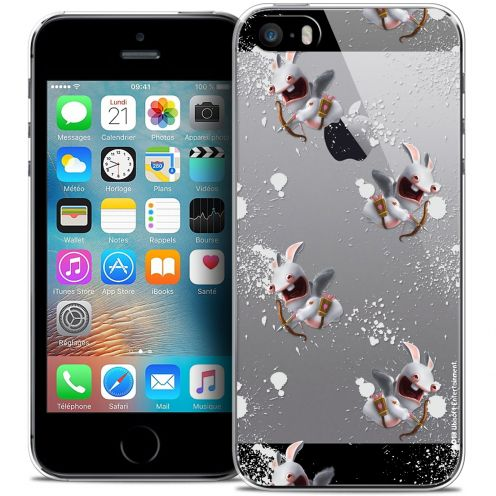 Coque iPhone 5/5s/SE Extra Fine Lapins Crétins™ - Cupidon Pattern