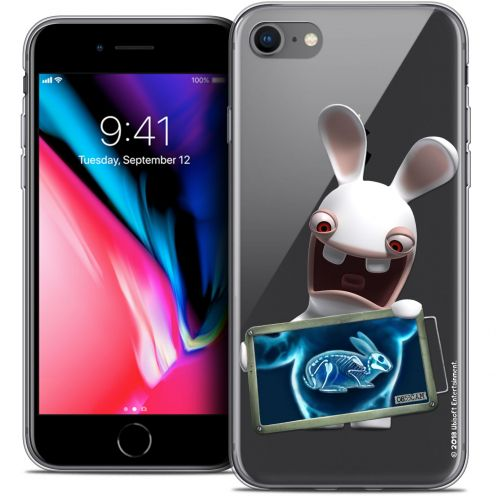 """Coque Gel Apple iPhone 7 (4.7"""") Extra Fine Lapins Crétins™ - X Ray Crétin"""
