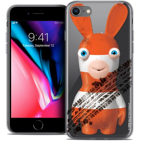 """Coque Gel Apple iPhone 7 (4.7"""") Extra Fine Lapins Crétins™ - On the Road"""